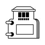 房地产目录编目标志概述 向量例证