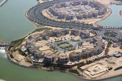 房地产项目在迪拜 库存图片