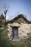 房子一点块做的石头 免版税图库摄影