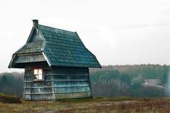 房子一点 免版税库存图片