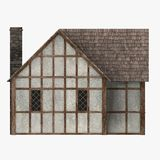 房子中世纪老 库存照片