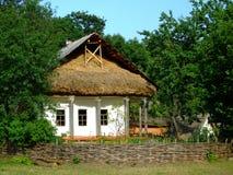 房子乌克兰语 免版税库存照片