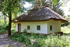 房子传统乌克兰语 库存图片