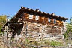 房子传统土耳其村庄 免版税库存照片