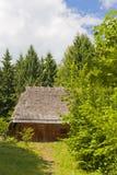 房子传统木 免版税库存照片