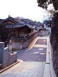 房子传统的韩国 库存照片
