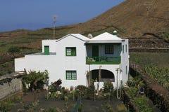 房子传统的lanzarote 库存照片