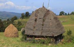 房子传统transylvanian 免版税图库摄影