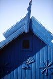 房子传统木 免版税库存图片