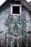 房子传统木 库存图片