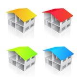 房子例证向量 免版税库存照片