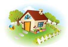房子例证向量 向量例证