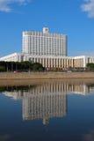 房子俄国白色 免版税库存图片