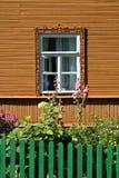 房子俄语样式 库存照片