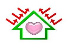 房子保护您 免版税图库摄影