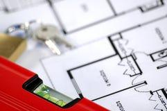 房子保险证券 免版税库存照片