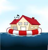 房子保险 库存例证