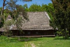 房子做木头 图库摄影
