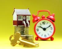 房子关键时间 免版税库存图片
