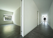 房子内部现代 免版税图库摄影