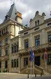 房子卢森堡代表 免版税图库摄影