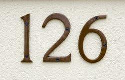 房子号码 图库摄影