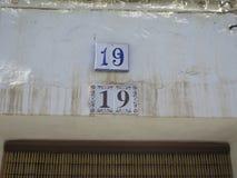 房子号码19 免版税库存照片