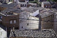 房子和屋顶农村横向  图库摄影