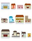 房子图标向量 免版税库存图片