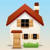 房子图标 免版税库存图片