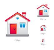 房子图标 库存图片