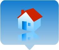 房子图标 免版税库存照片