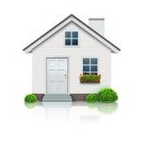 房子图标 图库摄影