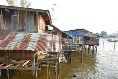 房子在水中 免版税库存照片
