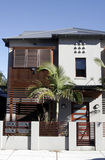 房子城镇 库存图片