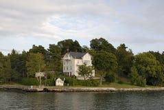 房子夏天 免版税库存图片