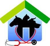 房子宠物 库存例证