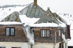 房子屋顶 免版税库存照片