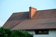 房子屋顶s 免版税库存图片