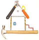 房子工具 免版税图库摄影