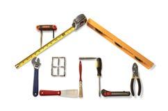 房子工具 库存图片