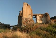 房子废墟 免版税库存照片