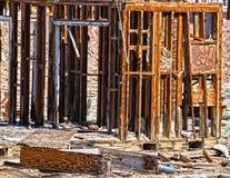 房子废墟 图库摄影