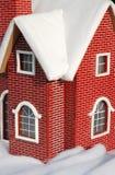 房子微型红色 图库摄影