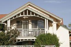 房子悉尼城镇 库存照片