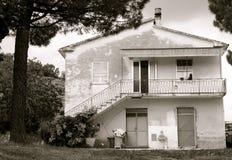 房子意大利语 免版税库存图片