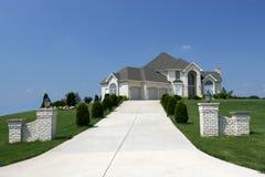房子房子住宅细分 免版税库存照片