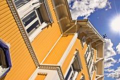 房子挪威 库存照片