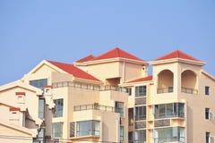 房子新的住宅 免版税库存图片