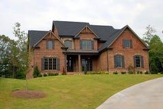 房子新的销售额 免版税图库摄影